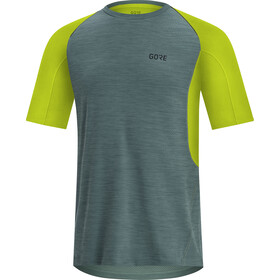 GORE WEAR R5 Camiseta Hombre, nordic blue/citrus green